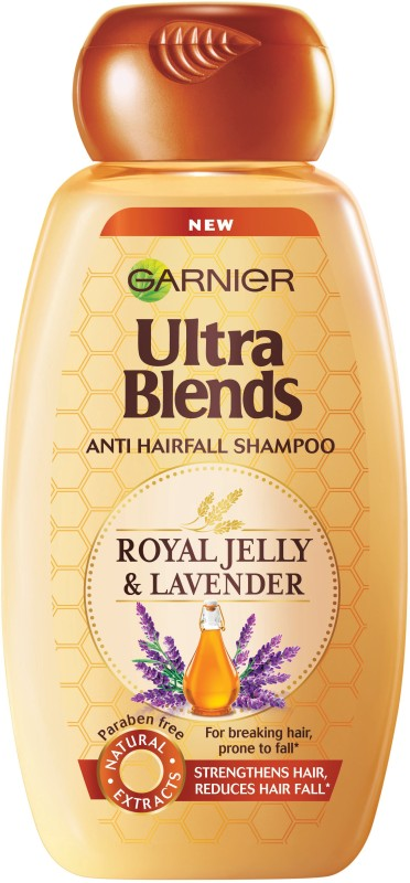 Garnier Ultra Blends Royal Jelly & Lavender Shampoo(340 ml)