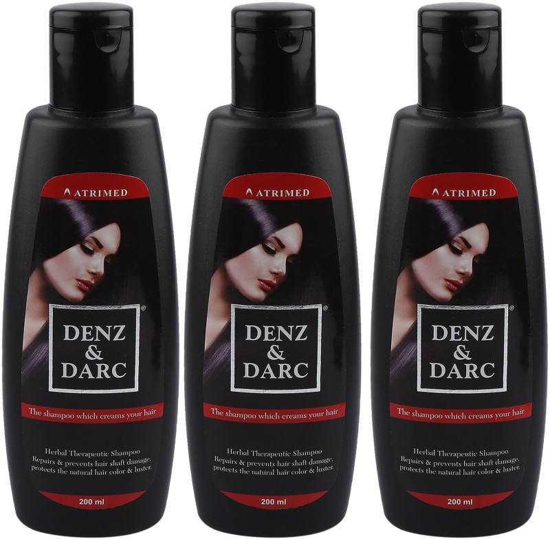 Atrimed Denz & Darc Herbal Therapeutic Shampoo(600 ml)