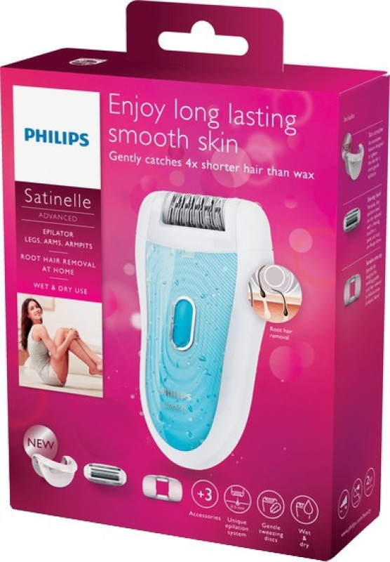 Philips BRE210/00 Cordless Epilator(White)