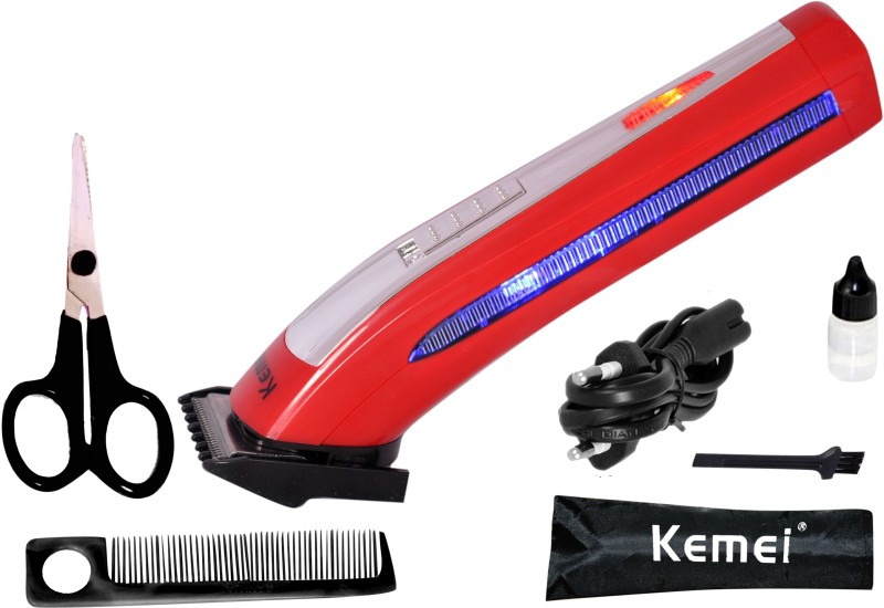Kemei KM-6911 Shaver For Men(Red)