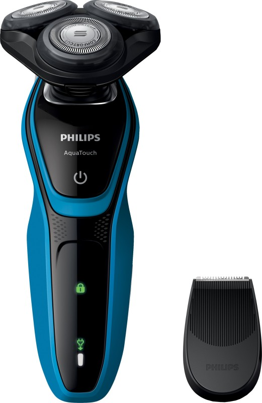 Philips S5050/06 Shaver For Men(Black and Blue)
