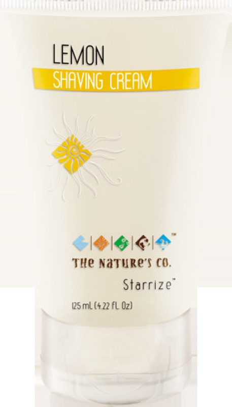The Natures Co Lemon Brushless Shaving Cream(125 ml)