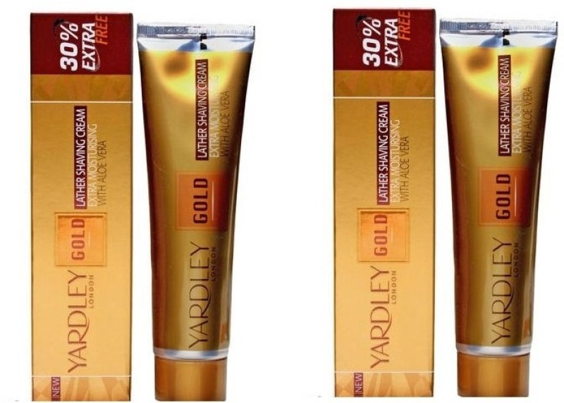 below 500 Rupees and above 100 Rupees in India Yardley London Gold Lather Shaving Cream with