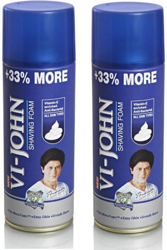 Vi-John Shaving Foam Combo (All Skin Type)(800 g)