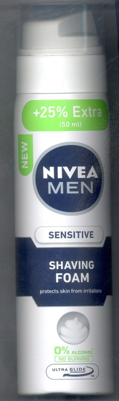 Nivea Sensitive Shaving Foam(250 ml)