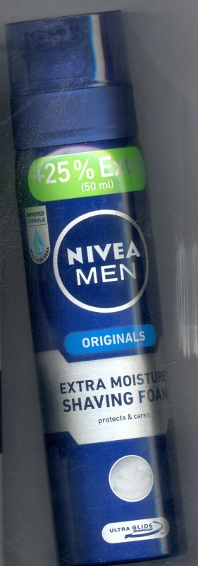 Nivea Men Originals Extra Moisture Shaving Foam(250 ml)