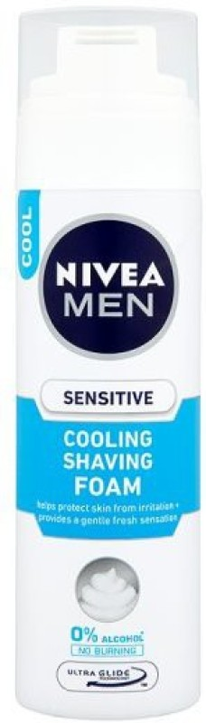 Nivea Sensitive Cooling Shaving Foam(200 ml)