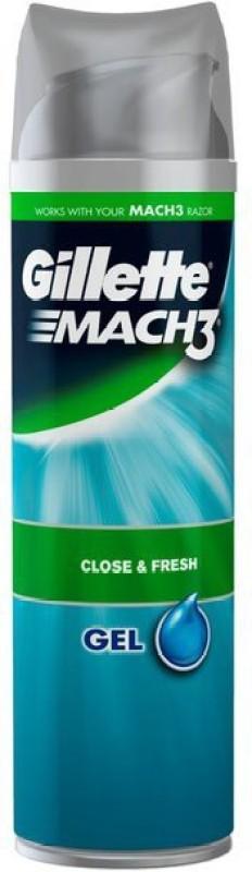 Gillette Mach3 Close &Fresh Shave Gel(199 ml)