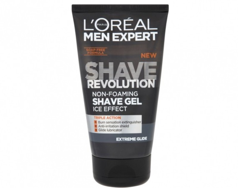 L'Oreal Paris Men Expert Ice Effect Extreme Glide Shave Gel Imported(150 ml)