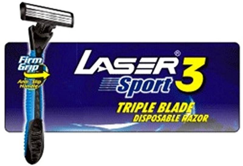 Laser Sport 3 Triple Blade Disposable 24 Razor