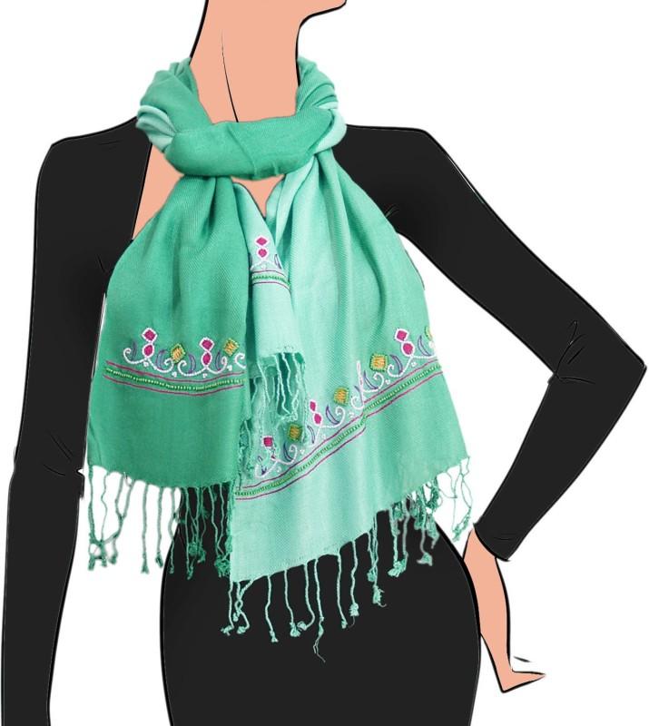 VR Designers Viscose Embroidered Women's Shawl