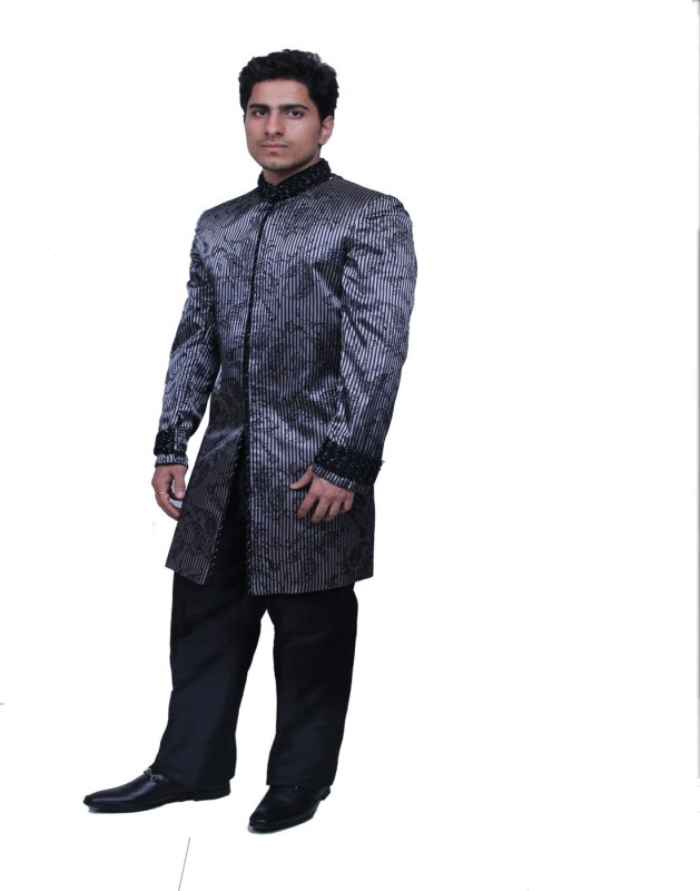 Smart Embroidered Sherwani