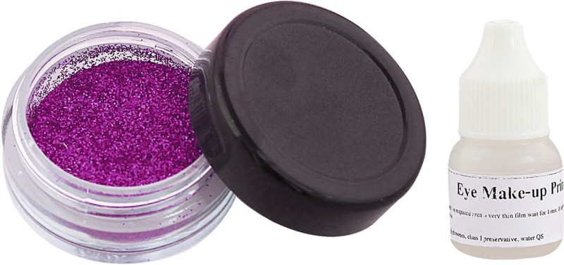 Ear Lobe & Accessories Eye Shimmer With Glue(Purple)