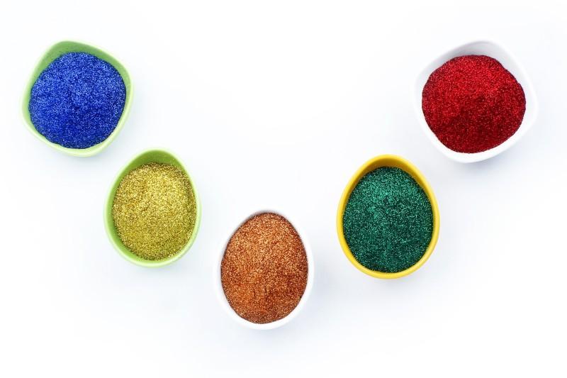 Vardhman 8 no fine glitter(multicolor)