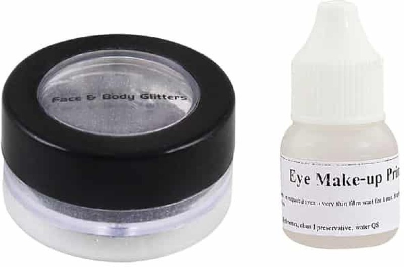 Ear Lobe & Accessories Eye Shimmer With Glue No-1(Black)