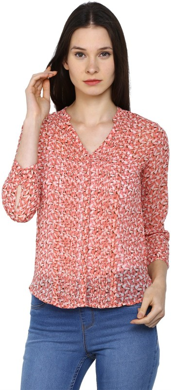 Arrow Womens Printed Casual Shirt