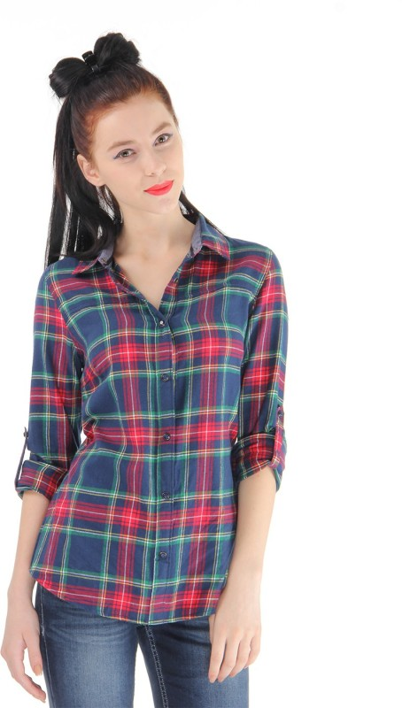 Pepe Jeans Women Checkered Casual Multicolor Shirt