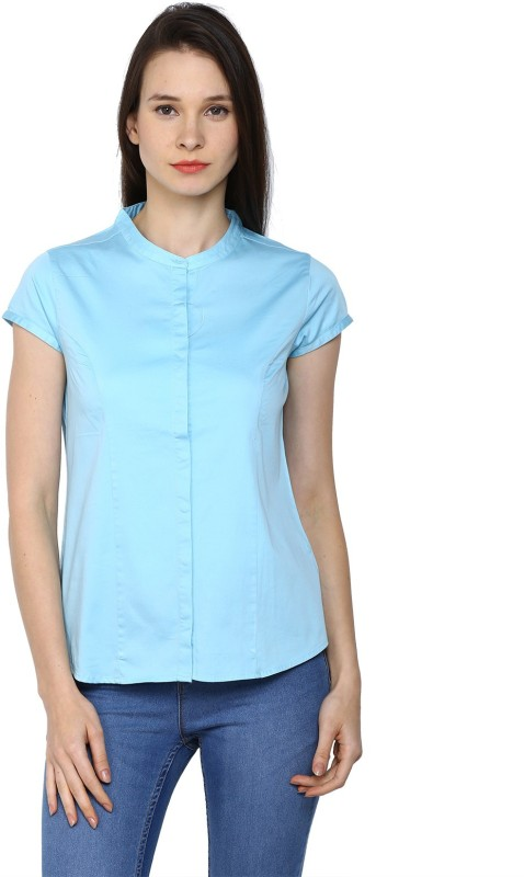 Arrow Womens Solid Casual Shirt