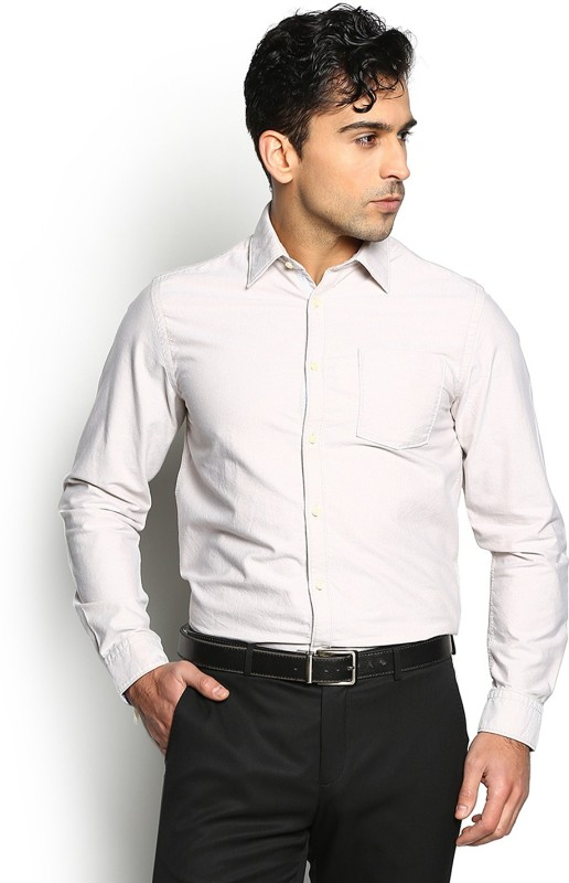 Blackberrys Mens Solid Casual Shirt