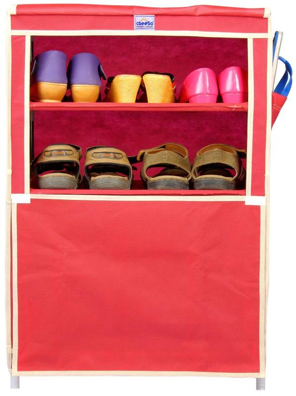 cbeeso-steel-collapsible-shoe-standmaroon-4-shelves