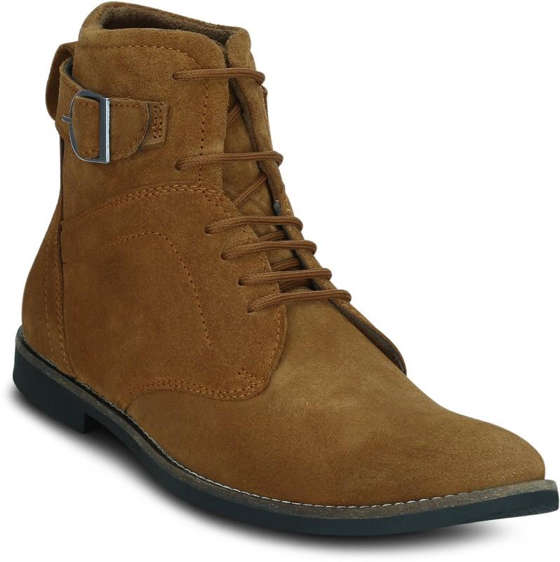Get Glamr Tweener Boots For Men(Tan)