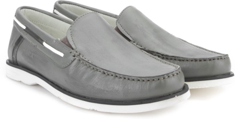U.S. Polo Assn Men Loafers For Men(Grey, White)