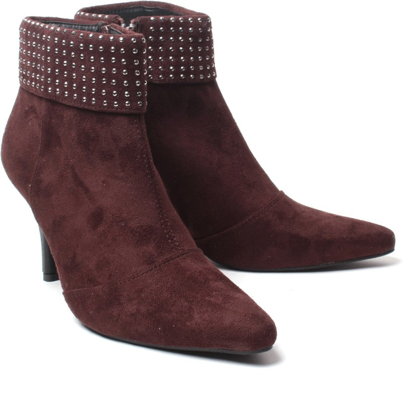 Nell Boots For Women(Brown)
