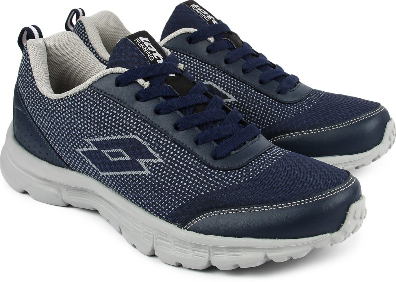 Lotto Running Shoes For Men(Blue, Grey)