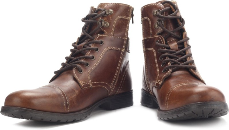 Red Tape Boots For Men(Tan)