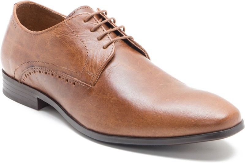 Red Tape RTS10253 Lace Up For Men(Tan)