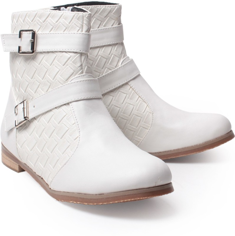 Nell Boots For Women(Beige)