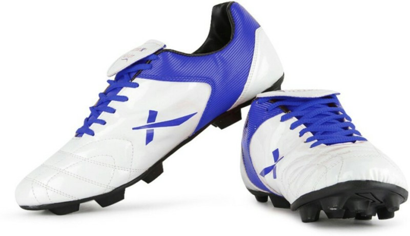 Vector X Fusion White Blue Women's Football Shoes For Women(3, White, Blue) image