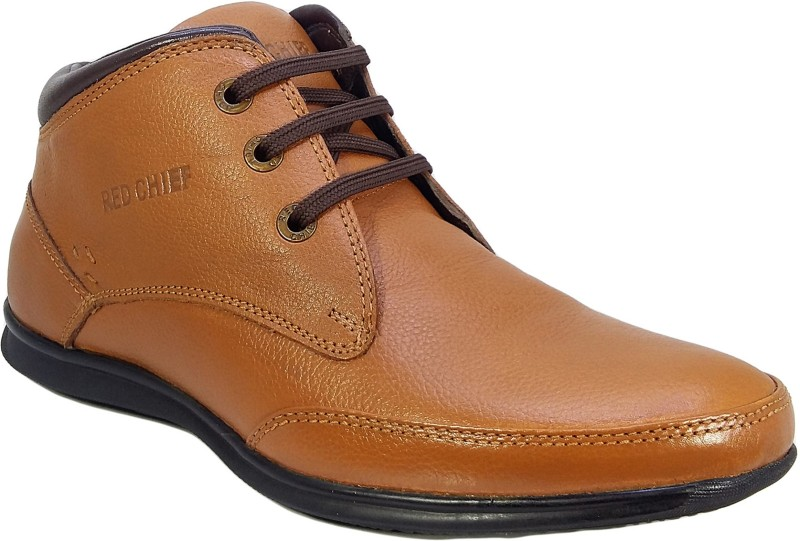Red Chief Men Formal Tan Lace Up For Men(Tan)