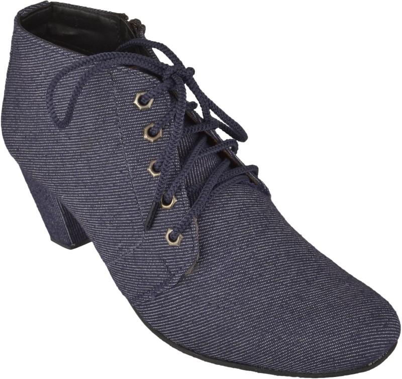 Exotique EL0054BL Boots For Women(Blue)