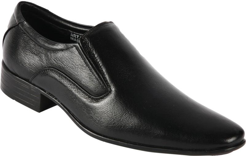 Bacca Bucci KP-34 Slip On Shoes For Men(Black)