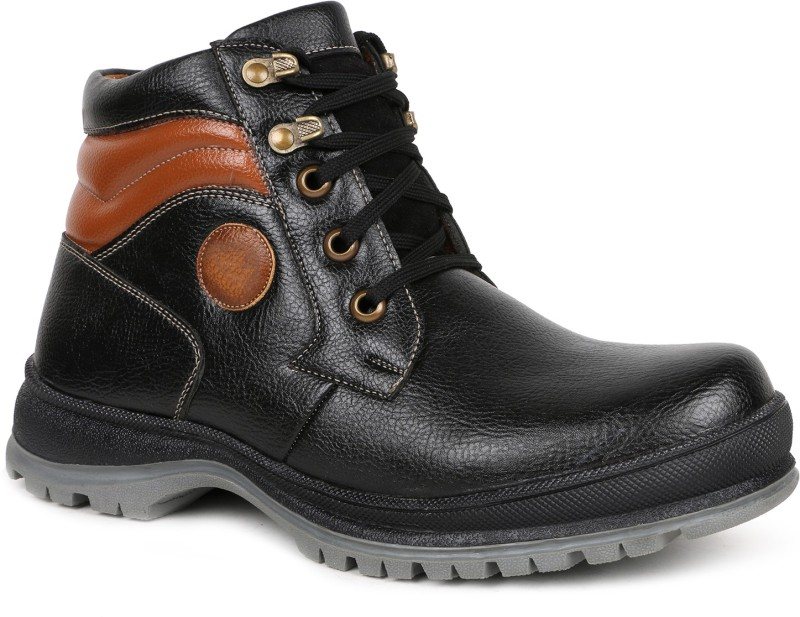 Escaro Boots For Men(Black)