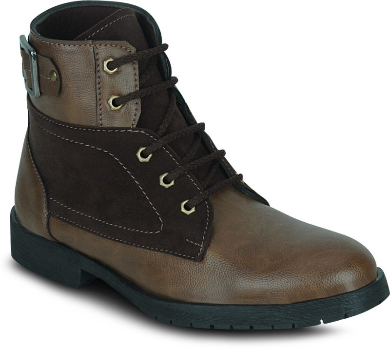 Kielz Gents Footwear Boots For Men(Tan)
