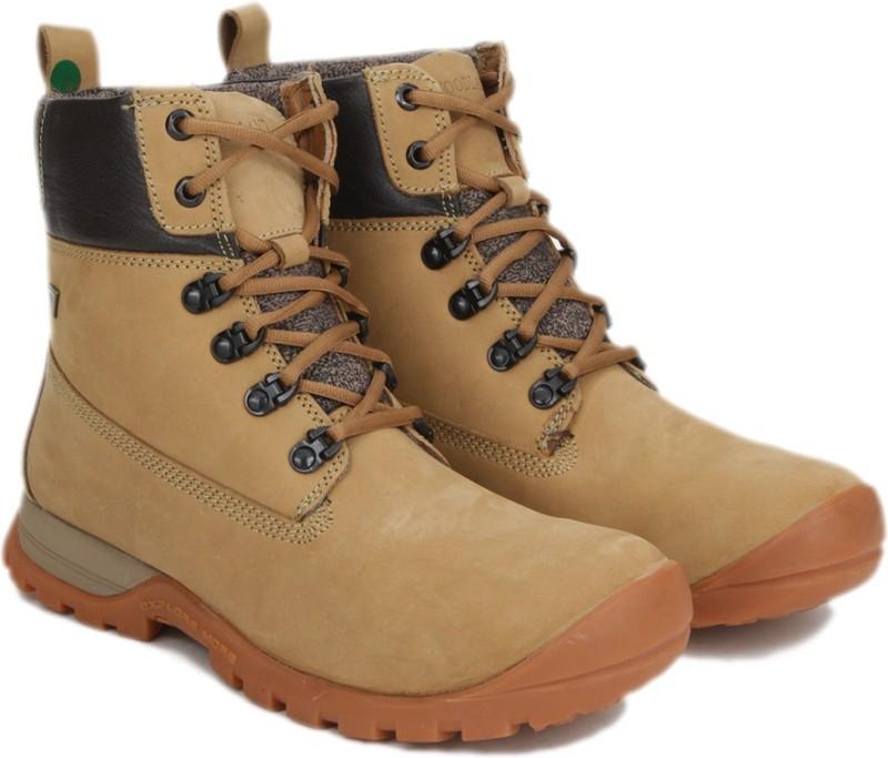 Woodland Men Boots For Men(Beige, Black)