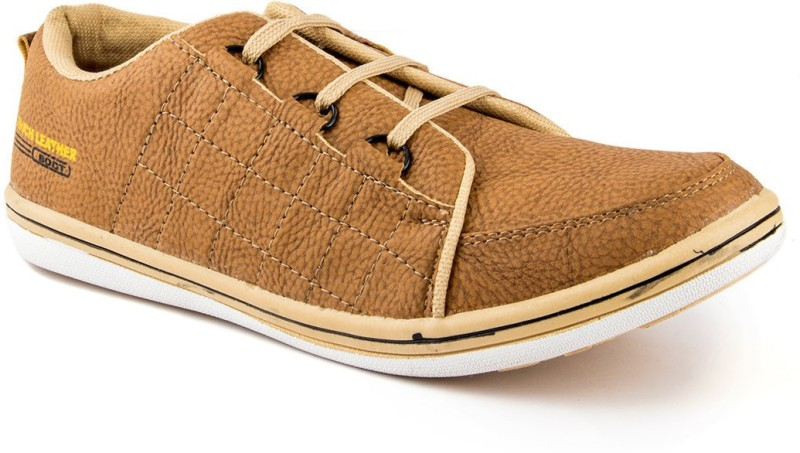 Golden Sparrow Classic Casual Shoes(Tan)