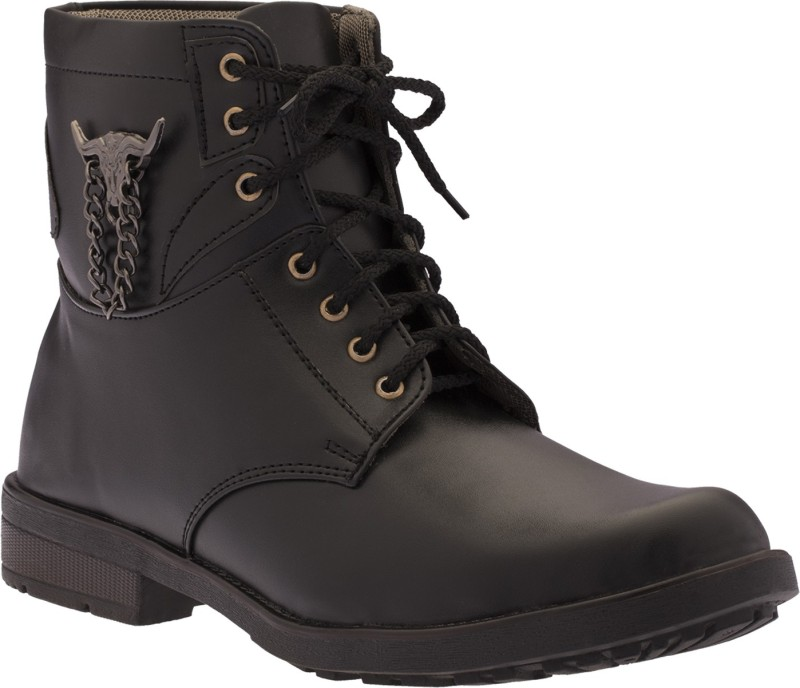 Footista Rodeo Boots(Black)