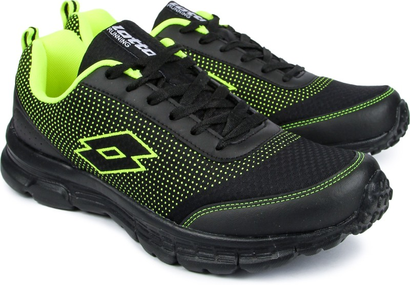 Lotto Running Shoes For Men(Black)