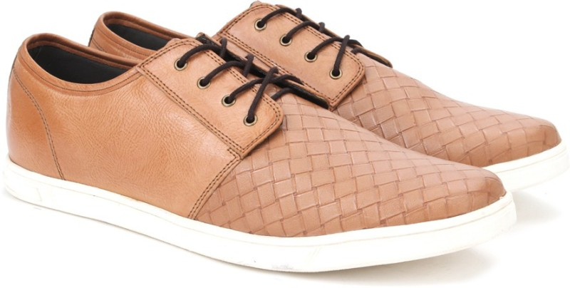 Knotty Derby Terry Plain Derby Sneakers For Men(Brown)