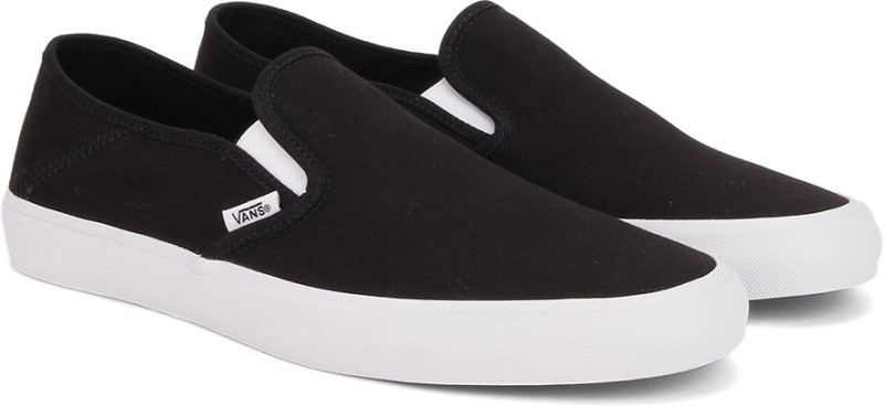 Vans SLIP-ON SF Loafers For Men(Black)