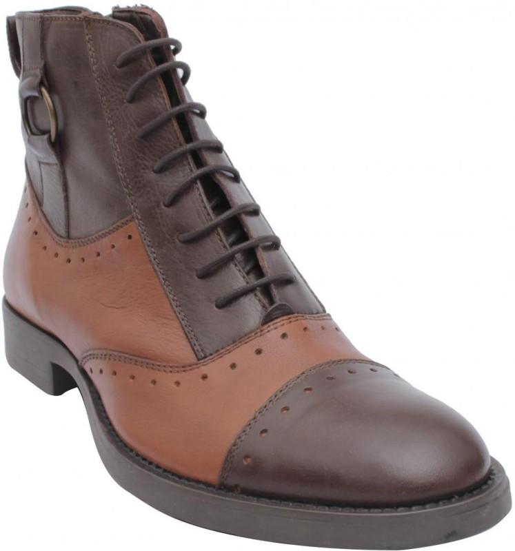 Salt N Pepper Boots For Men(Brown)