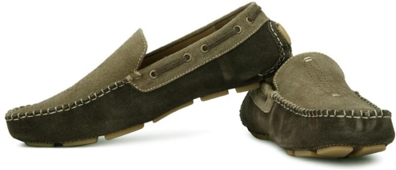 tZaro Loafers For Men(Brown)