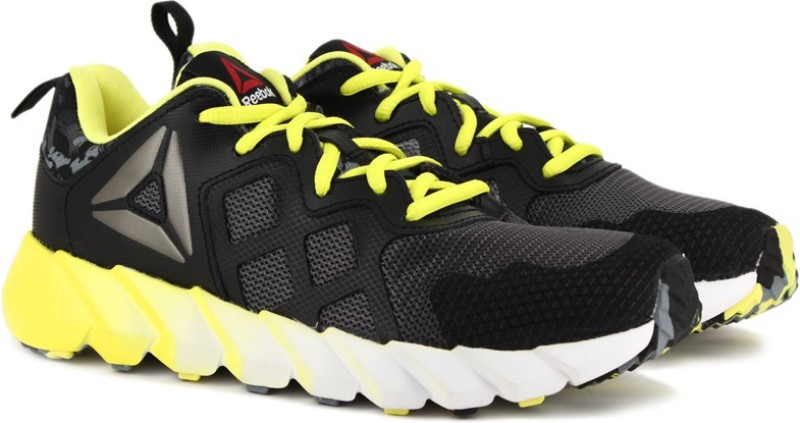 Reebok EXOCAGE ATHLETIC GR RUNNING(Black, Yellow)