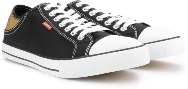 Levis Sneakers For Men(Black)