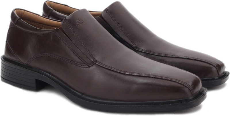 Arrow Slip on shoes For Men(Brown)