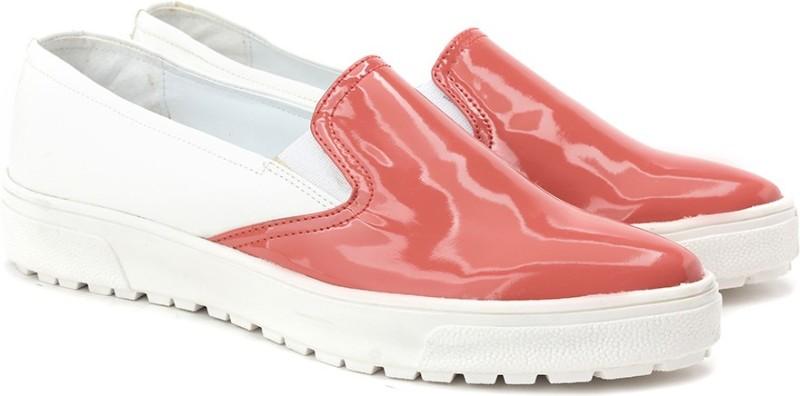Knotty Derby Loafers For Women(Orange)