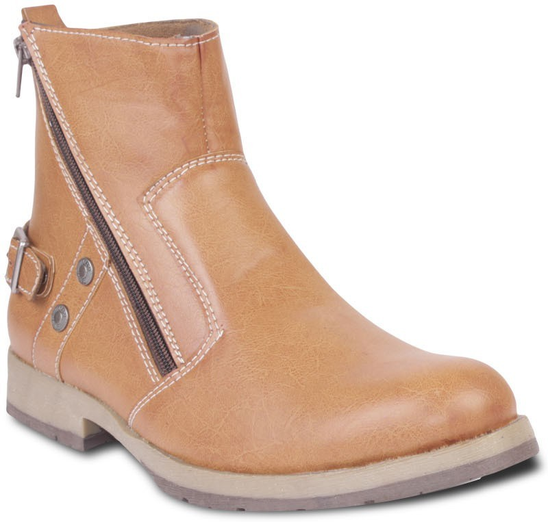 TEN Stylish And Elegant Boots(Tan)